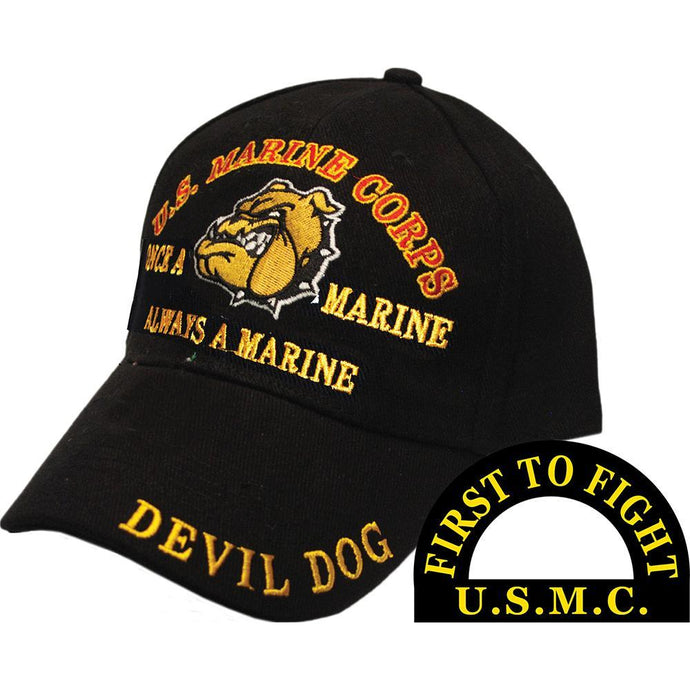 US MARINE CORPS, DEVIL DOG HAT