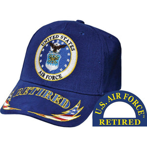 US AIR FORCE, RETIRED HAT