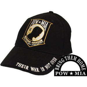 POW*MIA LOGO, THEIR WAR HAT