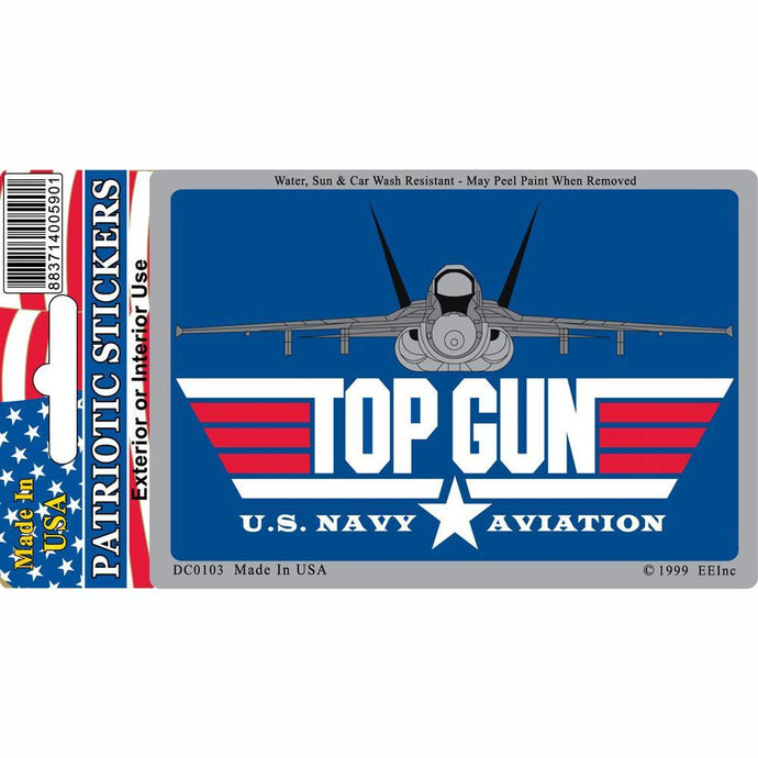 US NAVY, TOP GUN STICKER