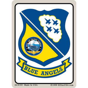 US NAVY, BLUE ANGELS STICKER