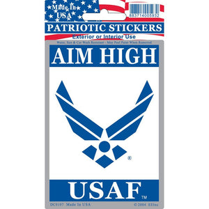 US AIR FORCE SYMBOL STICKER