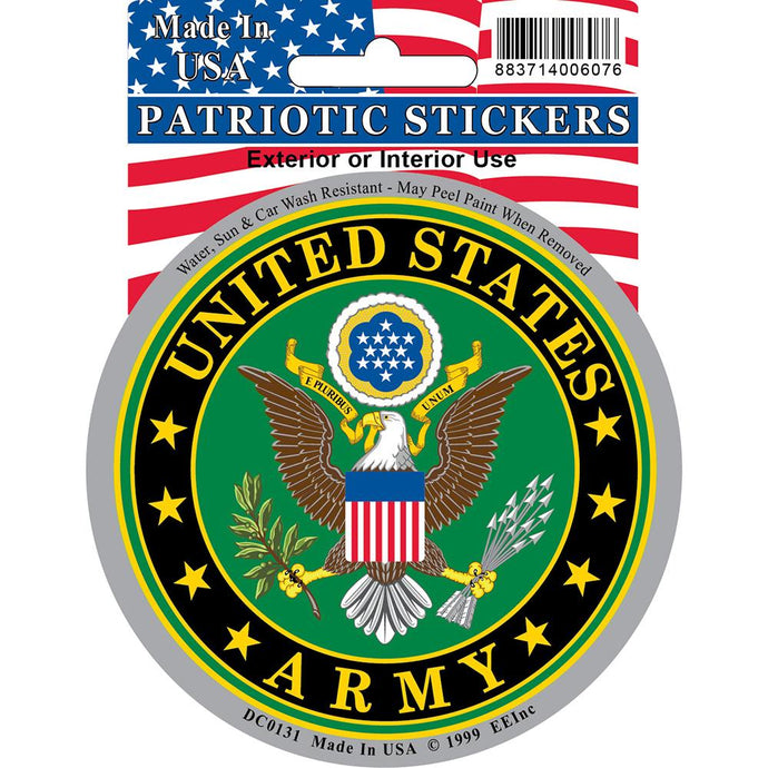 ARMY SYMBOL ROUND STICKER
