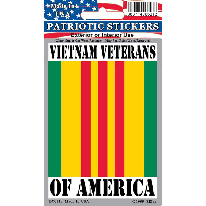 VIETNAM, VETERAN RIBBON STICKER