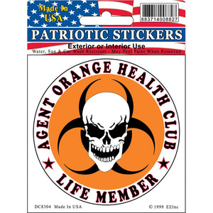 VIETNAM, AGENT ORANGE STICKER