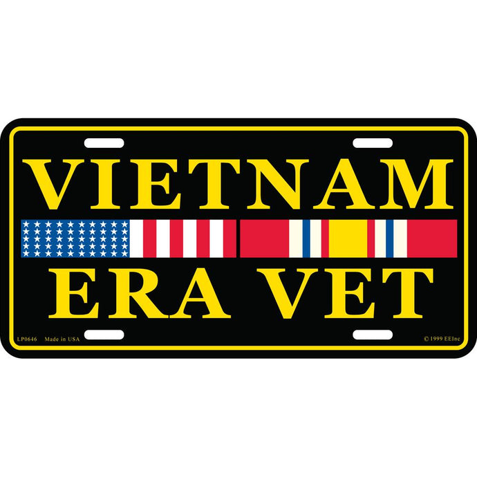 VIETNAM ERA VETERAN LICENSE PLATE