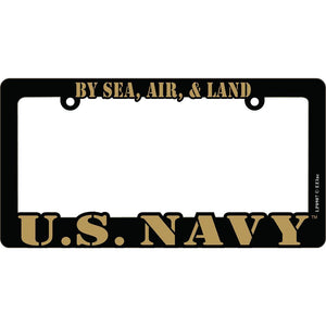 US NAVY LICENSE PLATE FRAME