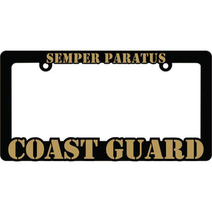 US COAST GUARD LICENSE PLATE FRAME