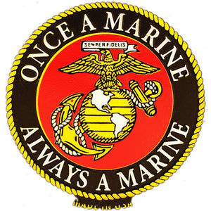 US MARINE CORPS, ONCE A MARINE MAGNET