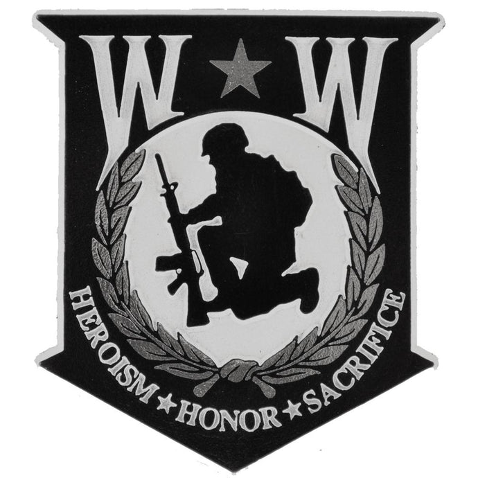 WOUNDED WARRIOR MAGNET