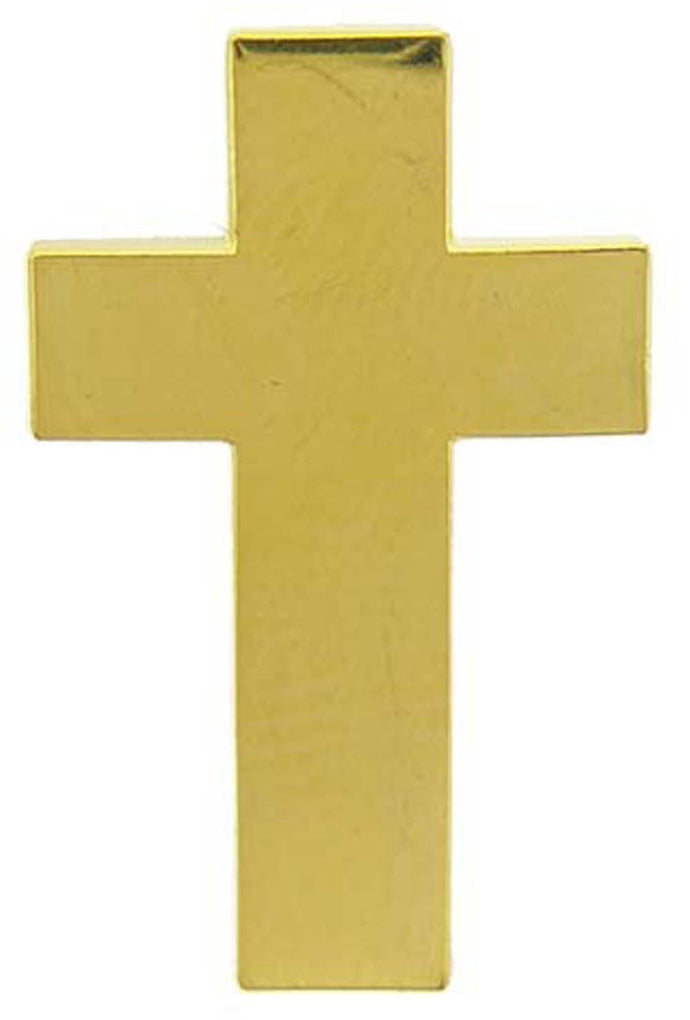 ARMY, CHAPLAINS CROSS HAT PIN