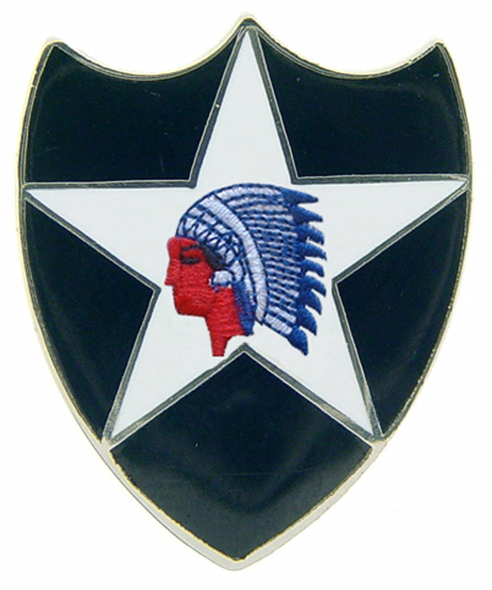 ARMY, 2ND INFANTRY DIV HAT PIN