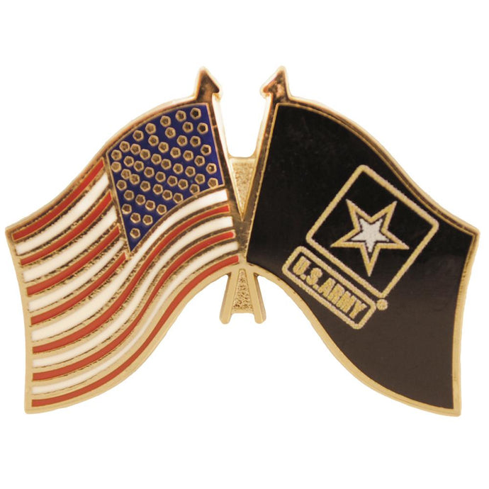 ARMY FLAG, USA FLAG HAT PIN