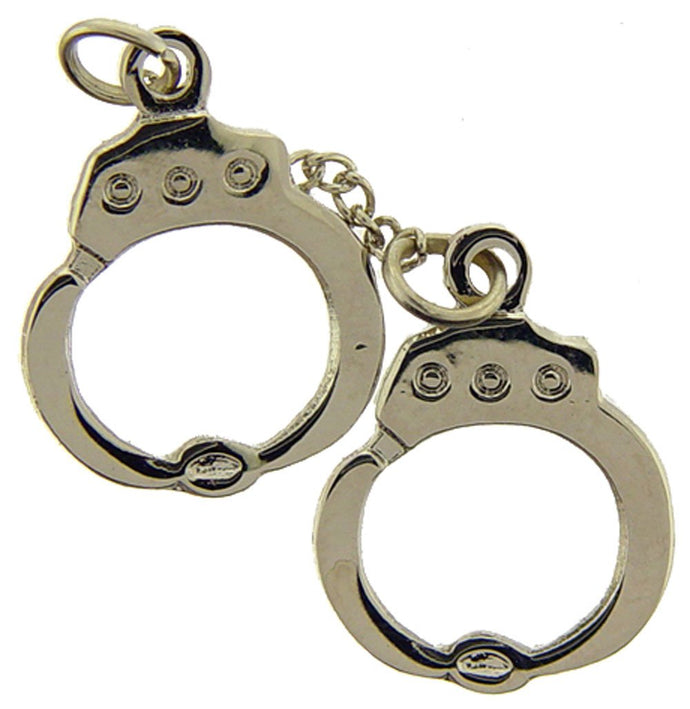 POLICE HANDCUFFS HAT PIN