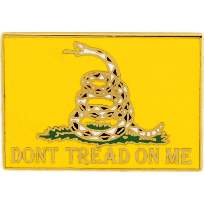 DON'T TREAD ON ME HAT PIN