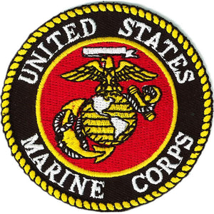 US MARINE CORPS LOGO PATCH