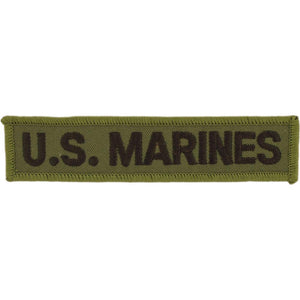 US MARINE CORPS TAB PATCH