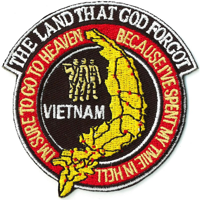 VIETNAM, THE LAND THAT GOD FORGOT PATCH