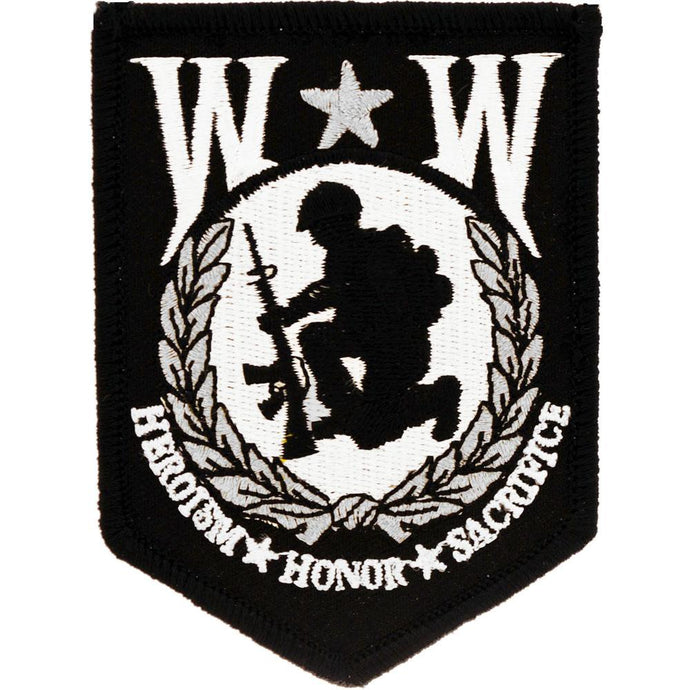 WOUNDED WARRIOR PATCH
