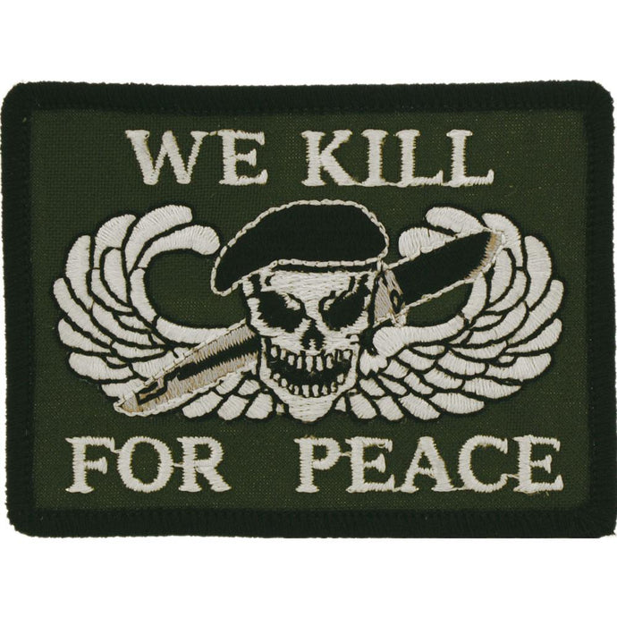 WE KILL FOR PEACE PATCH