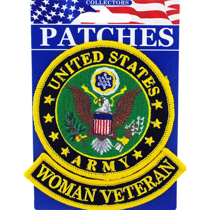 ARMY WOMAN VET PATCH