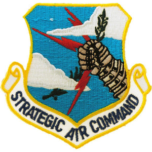 US AIR FORCE, STRATEGIC AIR COMMAND PATCH