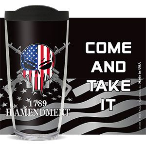 2nd AMENDMENT SNIPER COME TAKE IT THERMAL 16oz CUP W/ LID