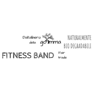Fitness Band | Gomma naturale | Fairtrade