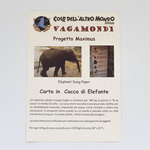 Carta ecologica di pachiderma Eco Maximus