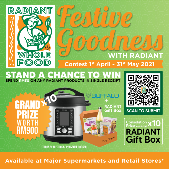 Contest Alert : Festive Goodness with Radiant