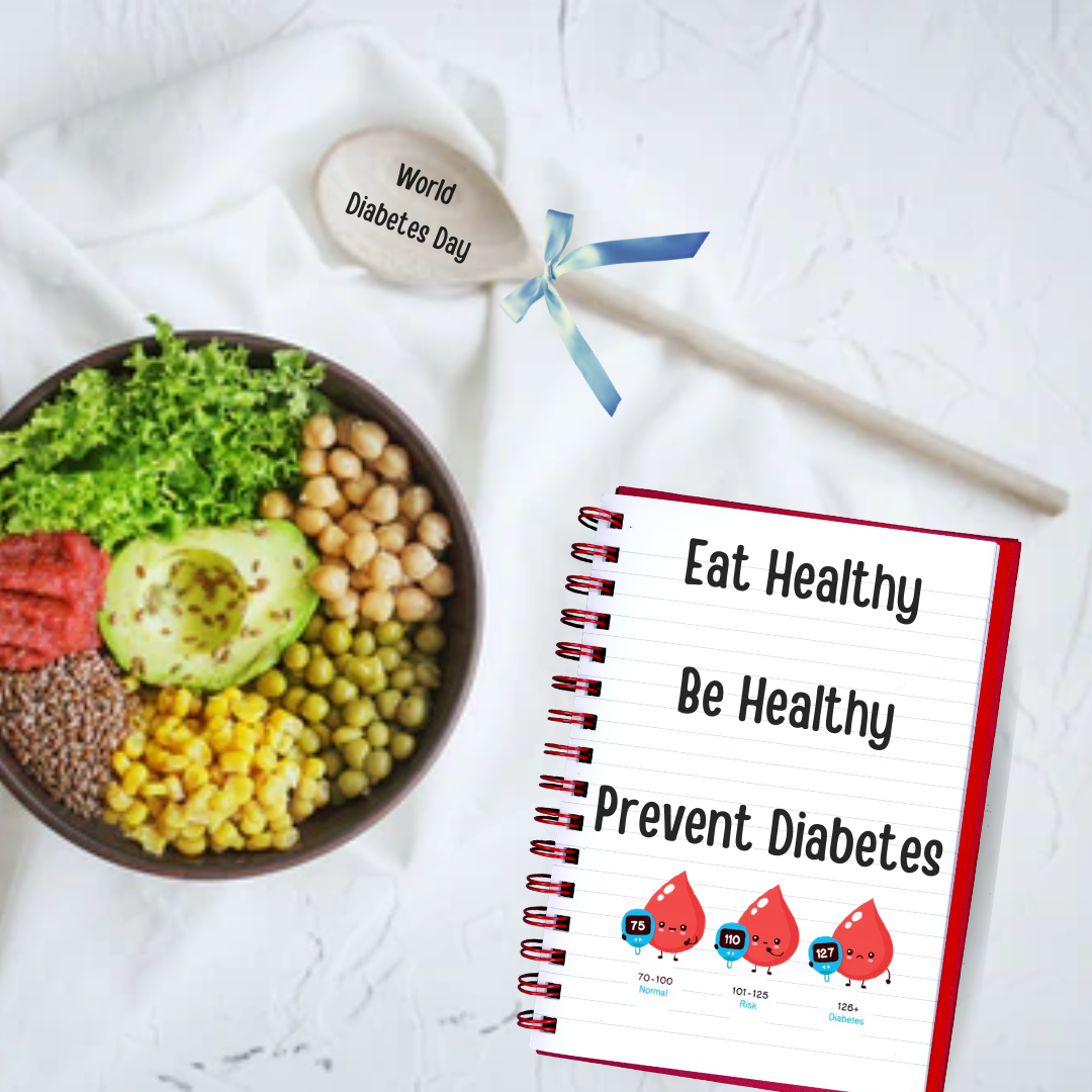 Eat Healthy, Be Healthy - Prevent Diabetes