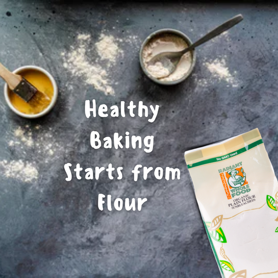 Healthy Baking Starts With Flours