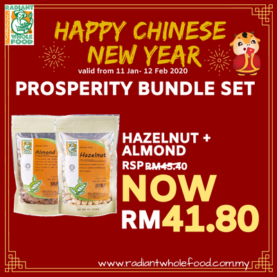 CNY - Natural Hazelnut + Natural Almond