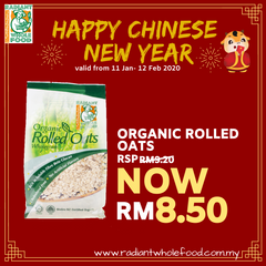 CNY - Radiant Organic Rolled Oats