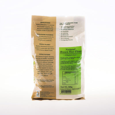 Radiant Natural Brown Rice Flour