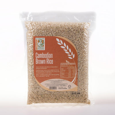 Radiant Cambodian Brown Rice
