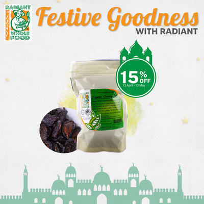 Radiant Organic Chewy Plums - Ramadan Special