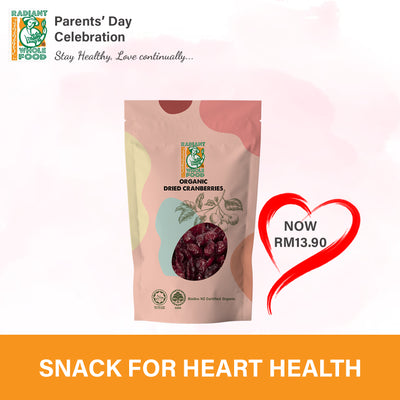 Radiant Organic Dried Cranberries - Ramadan Special