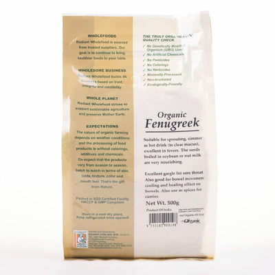 Radiant Organic Fenugreek