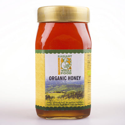 Radiant Organic Honey 1kg