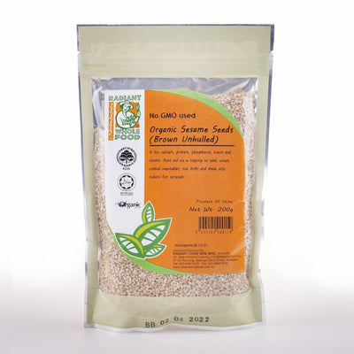 Radiant Organic Brown Sesame