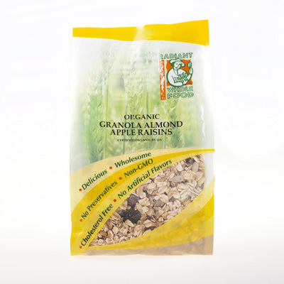 Radiant Organic Granola Almond Apple Raisin