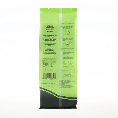 Radiant Green Tea Buckwheat Noodle
