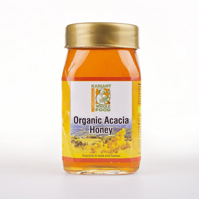 Radiant Organic Acacia Honey 500g