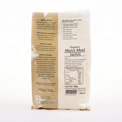 Radiant Organic Maize Meal