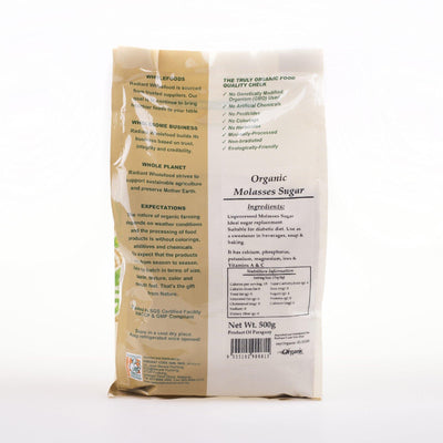 Radiant Organic Molasses Sugar (Powder)