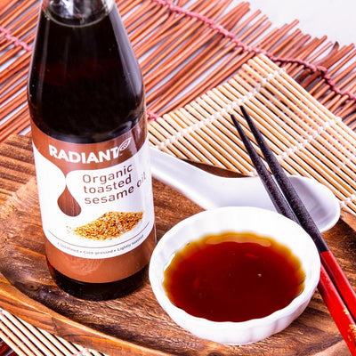 Radiant Organic Toasted Sesame Oil