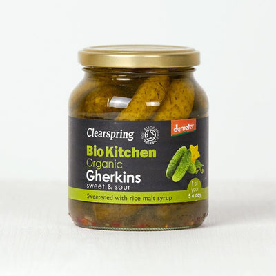 Clearspring Bottled Gherkins Condiments Radiant-Whole-Food-Organic-Delivery KL-PJ-Malaysia