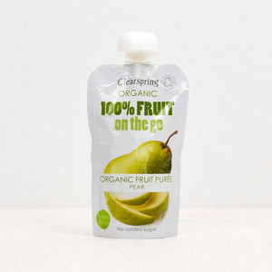 Clearspring Fruit On The Go - Pear (Pouch)