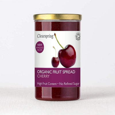 Clearspring Fruit Spread- Cherry Jams & Spreads Radiant-Whole-Food-Organic-Delivery KL-PJ-Malaysia